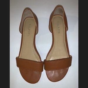 Talbots Women's Leather Sandals Size 8
